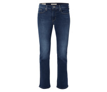Stone Washed Bootcut Jeans