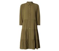 Blusenkleid aus Krepp
