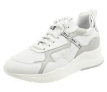Sneaker Wedges aus Leder Modell 'Karlie'