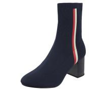 Sock Boots aus Textil in Strick-Optik