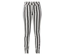 Skinny Fit Jeans mit Stretch-Anteil Modell 'Tanya'