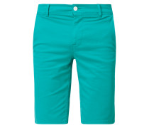 Slim Fit Shorts mit Stretch-Anteil Modell 'Schino'