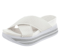 Sandalen mit Riemen aus Mesh Modell 'Jil'