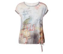 Shirt mit exotischem Muster