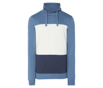 Sweatshirt mit Tube Collar