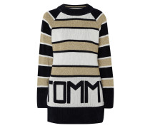 'Tommy Icons' Pullover mit Streifenmuster