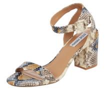 Sandalette in Snake-Optik Modell 'Malia'