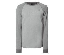 Sweatshirt aus cotton-recycled Polyester