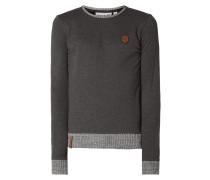 """Sweatshirt 'GESCHICHTENERZÄHLER"""" mit Logo-Details"""
