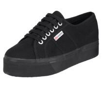 Sneaker '2750' aus Textil mit Plateausohle