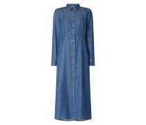 Blusenkleid aus Lyocell Modell 'Macinino'