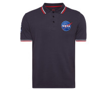 'NASA POLO' mit NASA-Stickerei