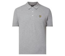 Poloshirt mit Logo-Aufnäher