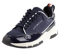 Sneaker aus Textil mit Webpelzfutter