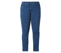 PLUS SIZE - Rinsed Washed Jeans