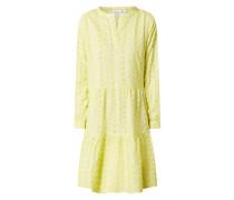 Kleid aus Baumwolle mit Lochstickereien  Modell 'Wendy'
