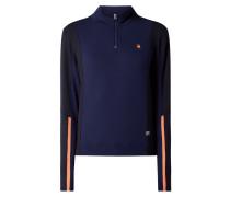 Sweatshirt im zweifarbigen Design