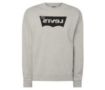 Oversized Sweatshirt mit Logo-Print