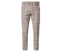 Anzug-Hose mit Karomuster