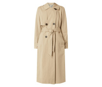 Trenchcoat aus Organic Cotton Modell 'Weeky'