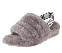 Sandalen 'Fluff' aus Lammfell