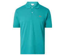 Classic Fit Poloshirt mit Logo-Badge