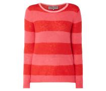 Pullover mit Blockstreifen im Colour Blocking