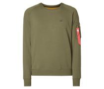 Sweatshirt mit Ärmeltasche