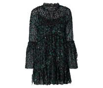 Kleid mit Fransenbesatz