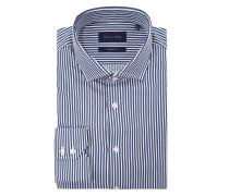 Modern Fit Business-Hemd mit Streifen-Dessin