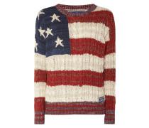 Pullover mit USA-Motiv