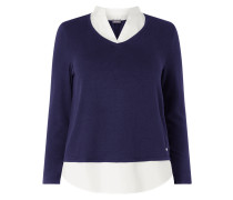 PLUS SIZE Pullover im 2-in-1-Look