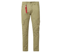 Slim Fit Cargohose 'AGENT' im Washed Out Look