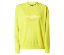 Sweatshirt mit Logo-Applikation Modell 'The Edit'