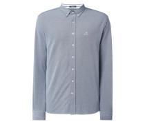 Modern Fit Freizeithemd mit Button-Down-Kragen