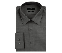 Regular Fit Business-Hemd aus Baumwolle Modell 'Ganos'