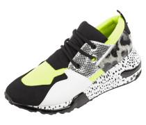 Sneaker aus Textil mit Mustermix