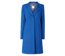 Mantel mit Reverskragen Modell 'Ocomfy'