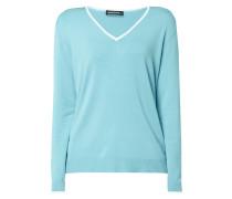 Pullover mit sternförmigen Ellenbogen-Patches