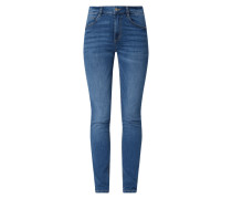 Skinny Fit Jeans mit Stretch-Anteil Modell 'Kate'