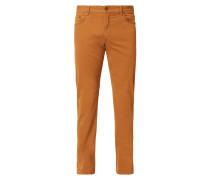 Regular Fit 5-Pocket-Hose mit Stretch-Anteil