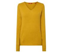 Pullover mit Woll-Anteil und V-Ausschnitt