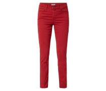Regular Fit 5-Pocket-Jeans aus Coloured Denim