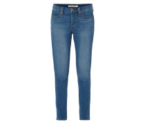 Stone Washed Shaping Skinny Fit Jeans