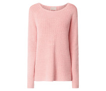 Pullover mit Cut Out