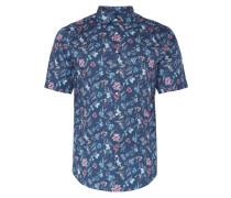 Modern Fit Freizeithemd mit floralem Muster