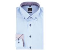 Modern Fit Business-Hemd mit Button-Down-Kragen