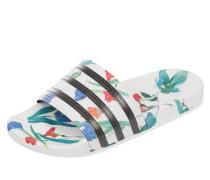 Slides mit floralem Muster