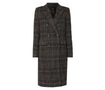 Mantel mit Glencheck