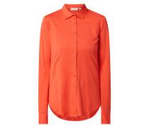 Slim Fit Bluse aus Baumwolle